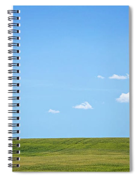 Eastern Washington State Landscapes And Pastures On Sunny Day Spiral Notebook