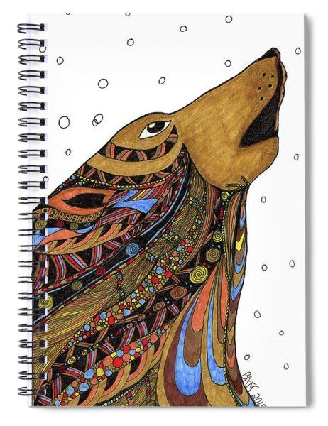 Eli Wolf Spiral Notebook