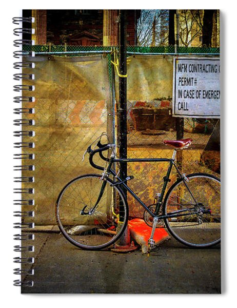 Emergency Bicycle Spiral Notebook