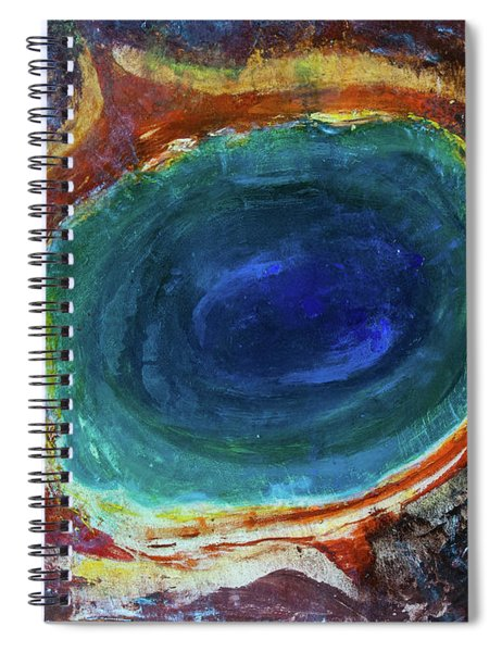 Eye Into The Earth Spiral Notebook