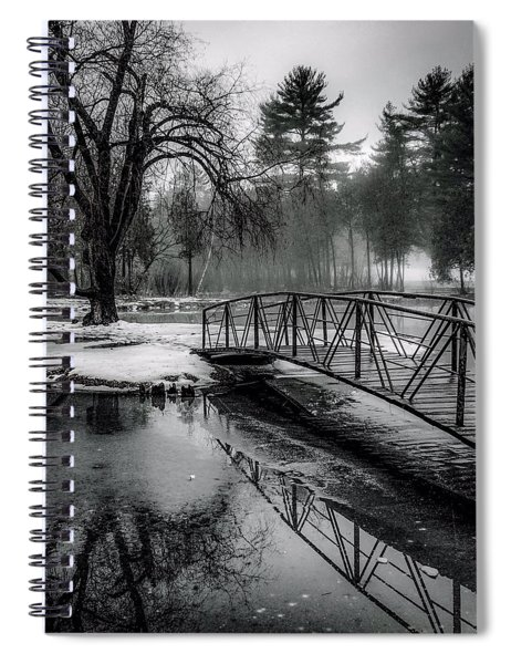 Fade To Black Spiral Notebook