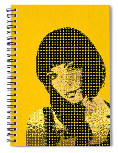 Fading Memories - The Golden Days No.3 Spiral Notebook