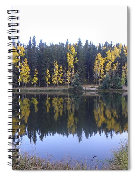 Potty Pond Reflection - Fall Colors Divide Co Spiral Notebook
