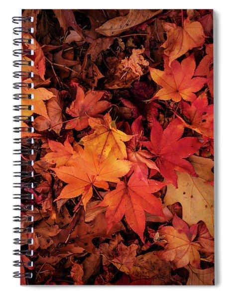 Fall Mosaic Spiral Notebook