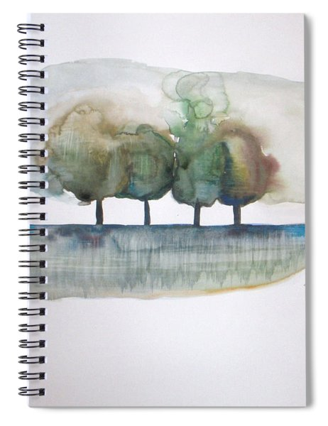 Family Trees Spiral Notebook