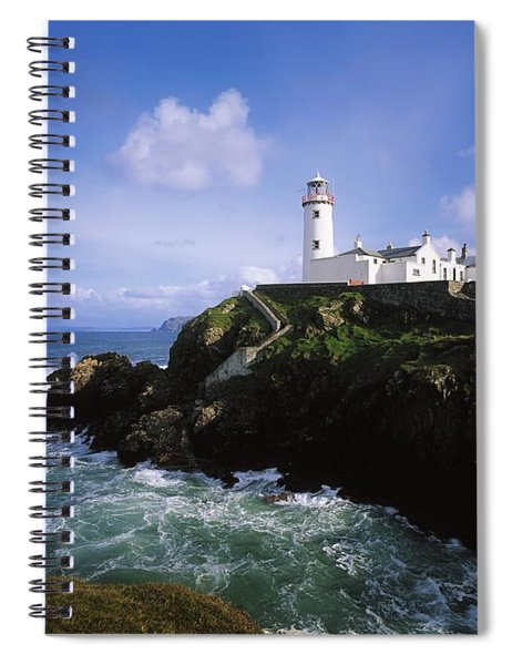 Fanad Lighthouse, Co Donegal, Ireland Spiral Notebook