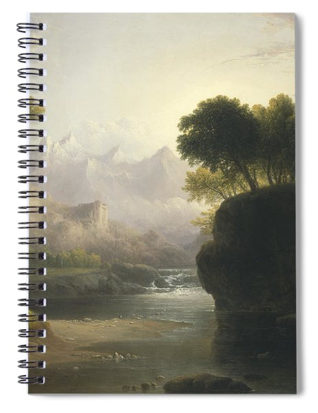 Fanciful Landscape Spiral Notebook