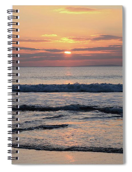 Fanore Sunset 2 Spiral Notebook