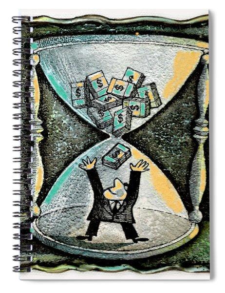 Financial Planning Spiral Notebook