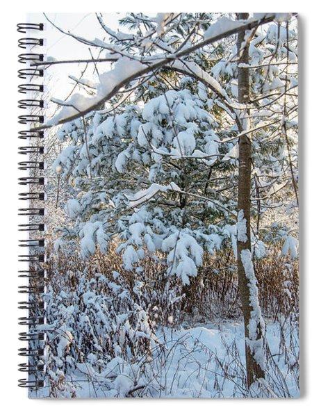 First Snow Fall Spiral Notebook