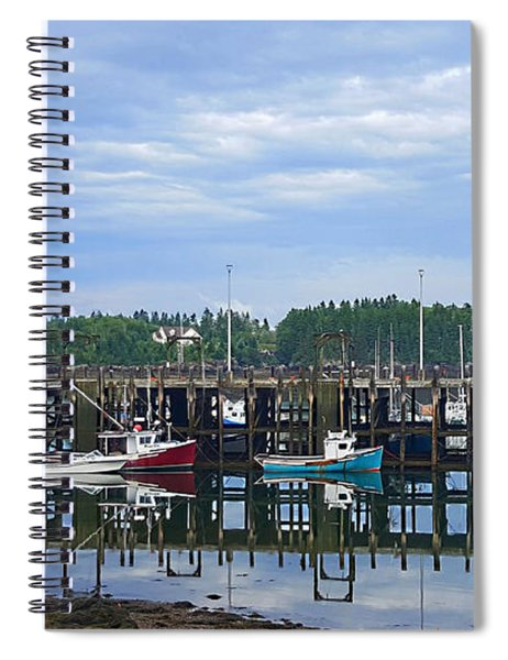 Fishing Boats - Beaver Harbour Spiral Notebook