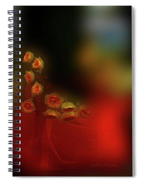 Floral Art 8 Spiral Notebook