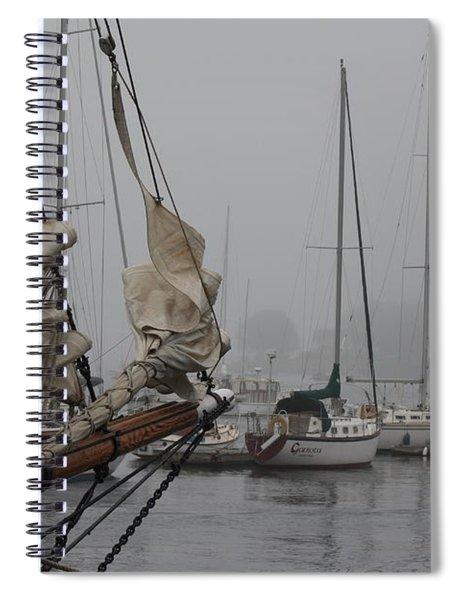 Fogged In Spiral Notebook
