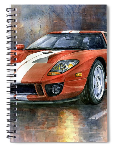 Ford Gt 40 2006  Spiral Notebook