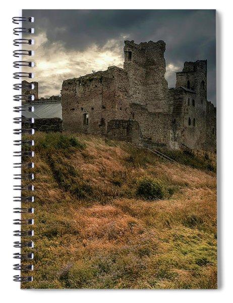Forgotten Castle Spiral Notebook