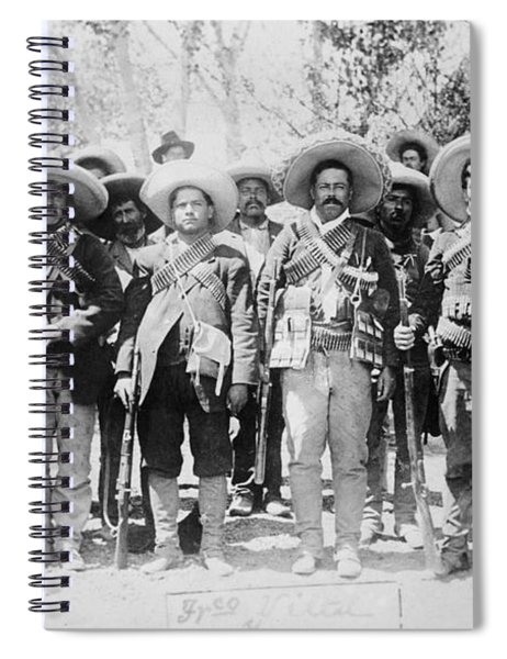 Francisco Pancho Villa Spiral Notebook