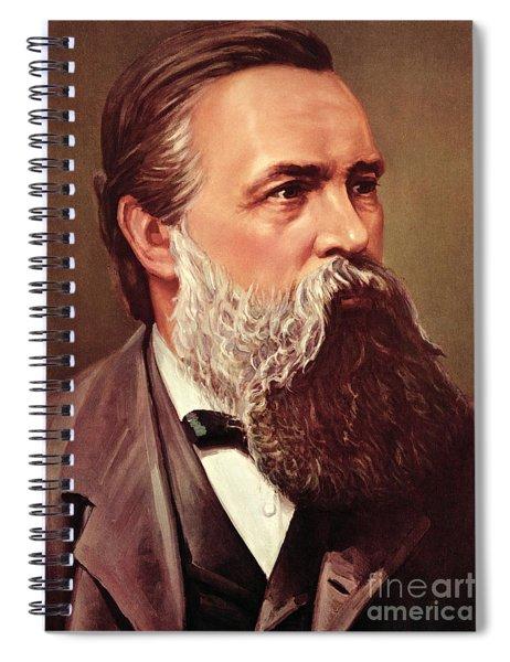 Friedrich Engels Spiral Notebook