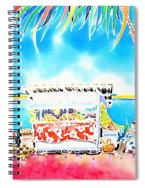 Fruit Stand Spiral Notebook