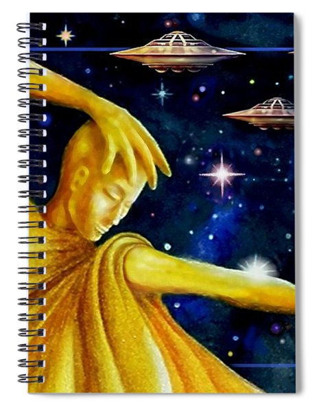 Galactic  Business Spiral Notebook