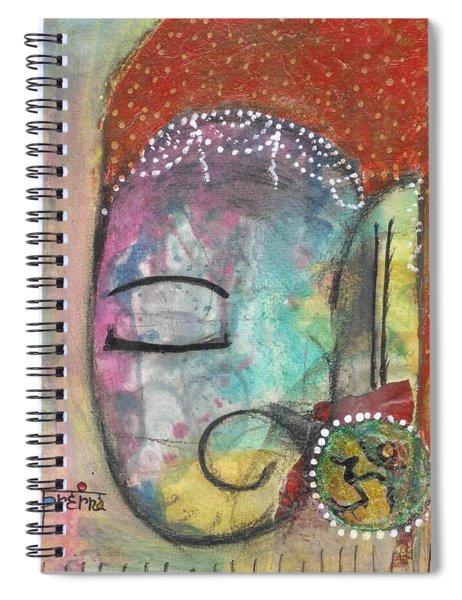 Ganesha Spiral Notebook by Prerna Poojara