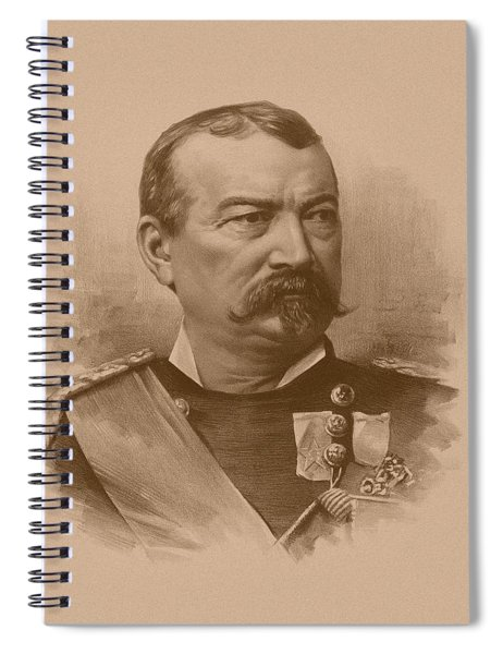 General Philip Sheridan Spiral Notebook