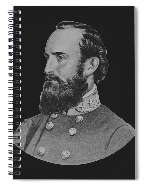 General Stonewall Jackson - Five Spiral Notebook