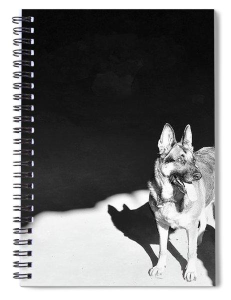 German Shepherd Spiral Notebook
