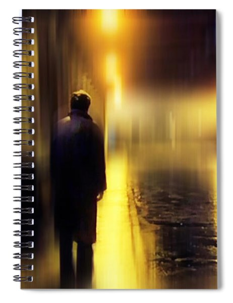 Ghost Of Love  Spiral Notebook