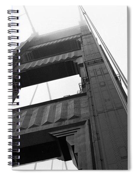 Golden Gate Tower 2 Spiral Notebook