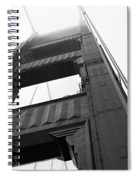 Golden Gate Tower 2 Spiral Notebook