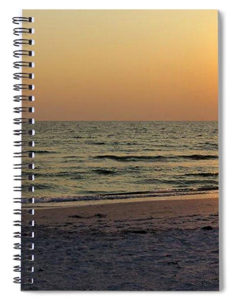 Golden Setting Sun Spiral Notebook
