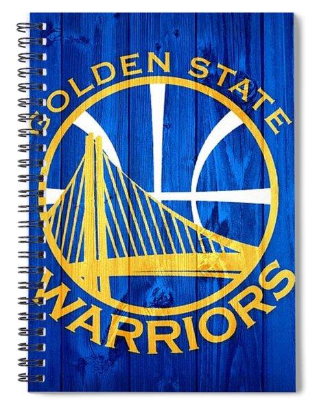 Golden State Warriors Door Spiral Notebook