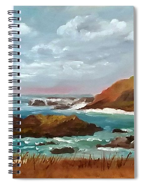 Grand Lighthouse Spiral Notebook