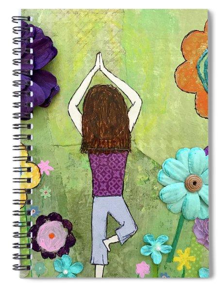 Ground And Bloom Spiral Notebook