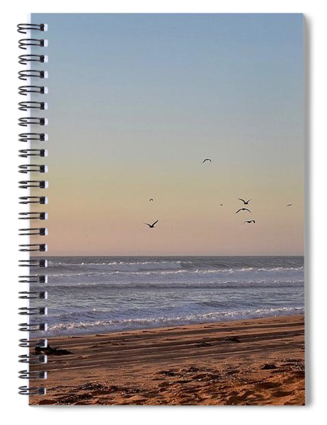 Half Moon Bay Spiral Notebook