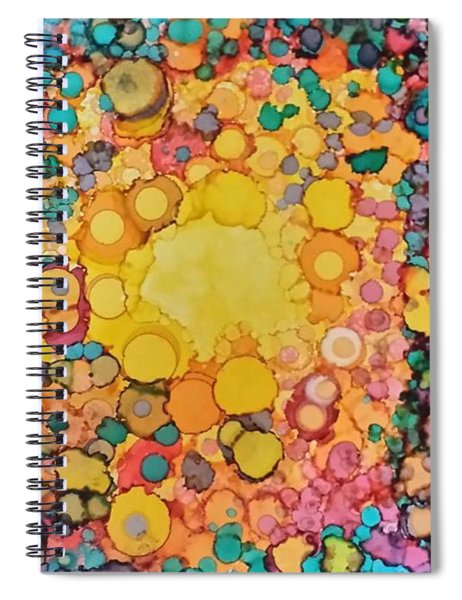Happy Explosion Spiral Notebook