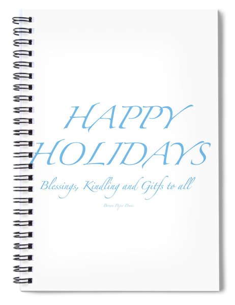 Happy Holidays - Day 2 Spiral Notebook