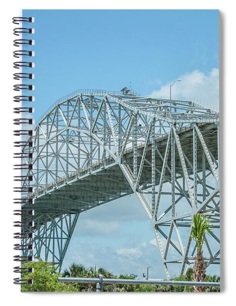 Harbor Bridge Spiral Notebook