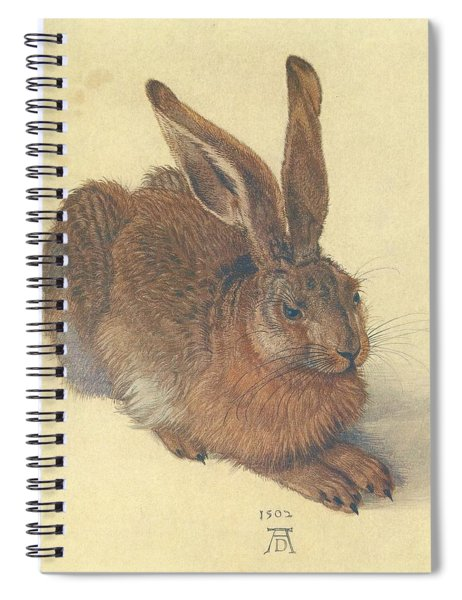 Hare Spiral Notebook