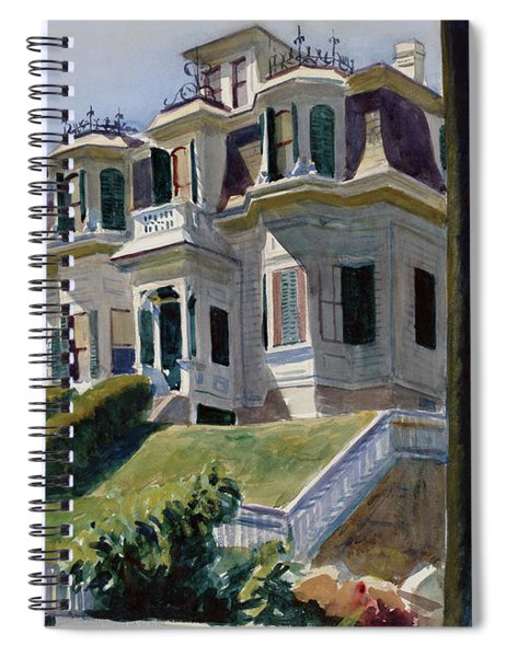 Haskell's House Spiral Notebook