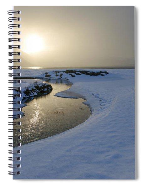 Haukland Beach, Lofoten Spiral Notebook