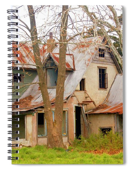 Haunted House Spiral Notebook
