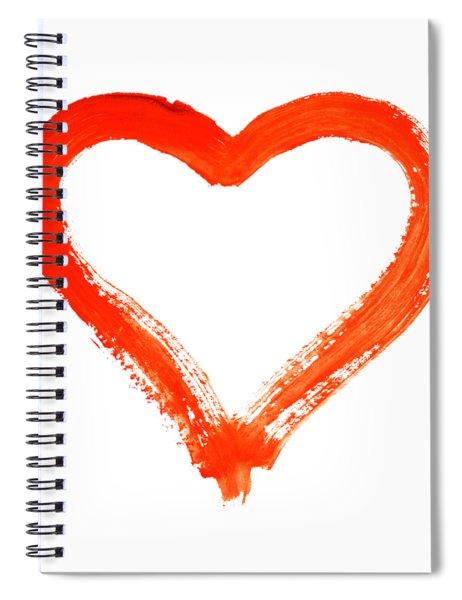 Heart - Symbol Of Love Spiral Notebook