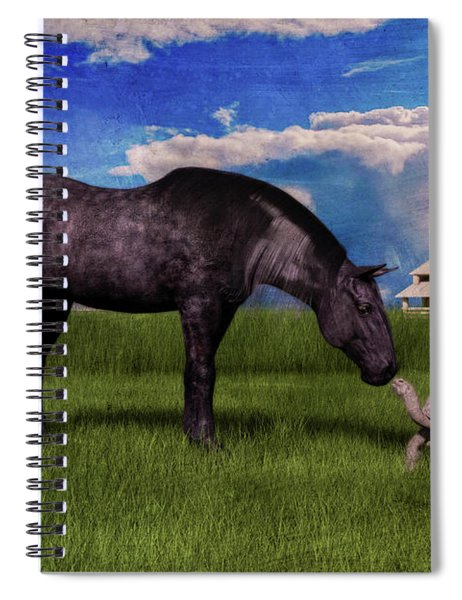Hello There Spiral Notebook