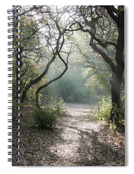 Spiral Notebook featuring the photograph Here Comes The Sun by Arik Baltinester