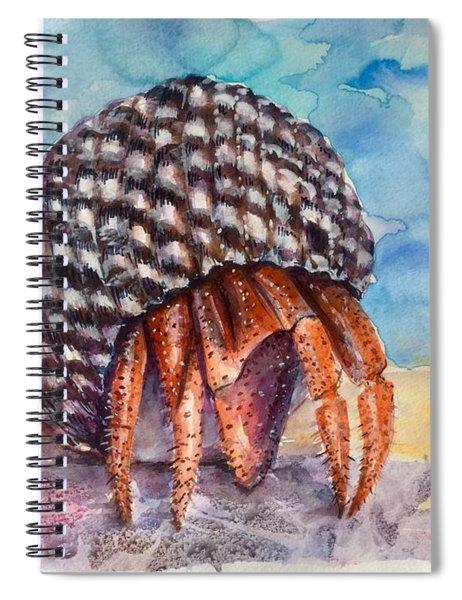 Hermit Crab 4 Spiral Notebook