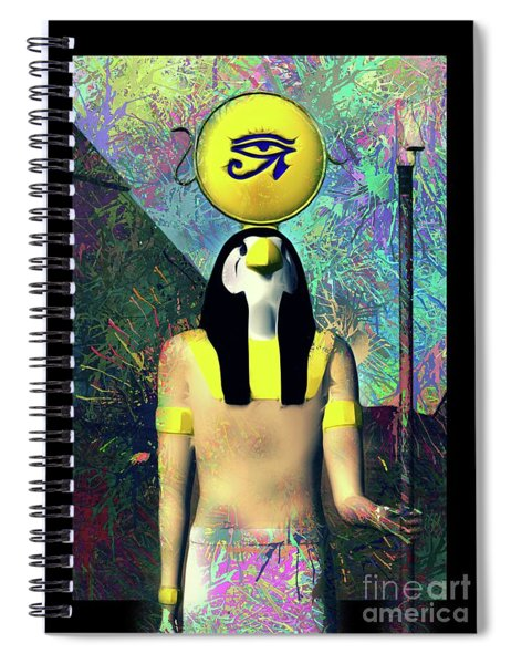 Horus, God Of Egypt Spiral Notebook