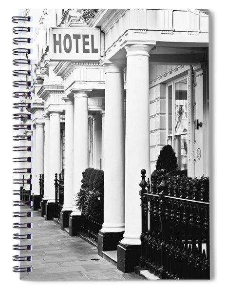 Hotel Sign Spiral Notebook