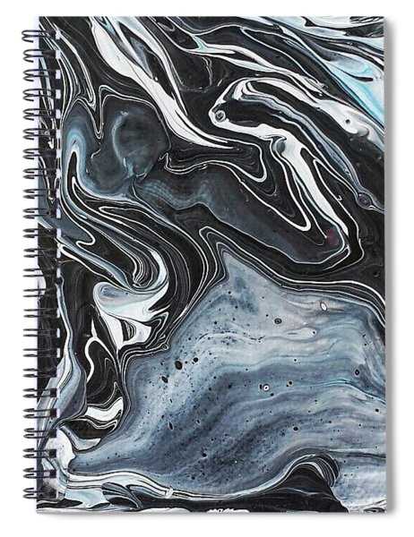 I Know It Looks Like Marble Spiral Notebook