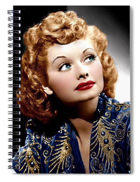 I Love Lucy Spiral Notebook